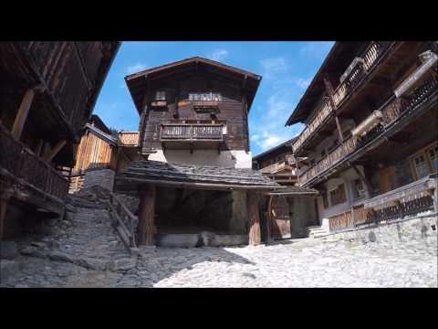 Mayoux  - Grand Bisse St-Jean - Grimentz, Val d'Anniviers, Valais, Suisse, 14-4-2017