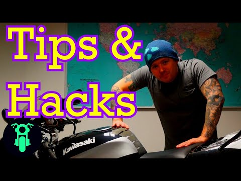 WATCH!! Motorcycle Tips and Tricks