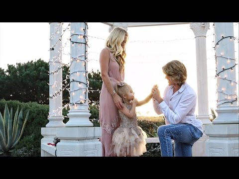 CUTEST SURPRISE PROPOSAL EVER WITH 4 YEAR OLD (WILL MAKE YOU CRY!)
