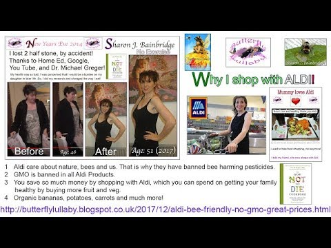 ALDI food shop review bee friendly no gmo great prices Sharon J Bainbridge