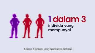 DIabetes tipe 2 sering terjadi pada orang dewasa yang memiliki insulin yang tidak bekerja dengan bai.