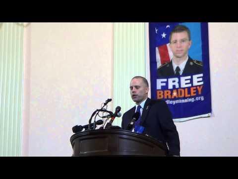 David Coombs First ever Presentation on Bradley Manning