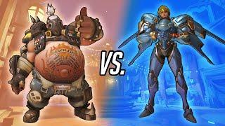 Overwatch: The Flyswatter Challenge - 6 Roadhog vs. 6 Pharah!