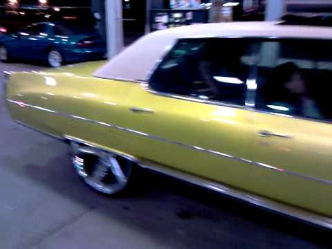 1971 Cadillac Fleetwood On 26 Quot Irocs And Candy Lime Flip