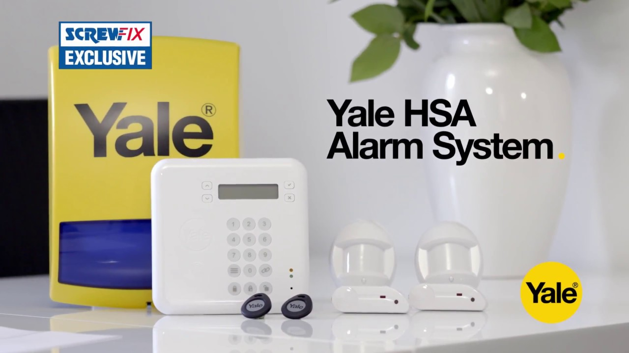 yale hsa6410 premium alarm screwfix youtube. Black Bedroom Furniture Sets. Home Design Ideas
