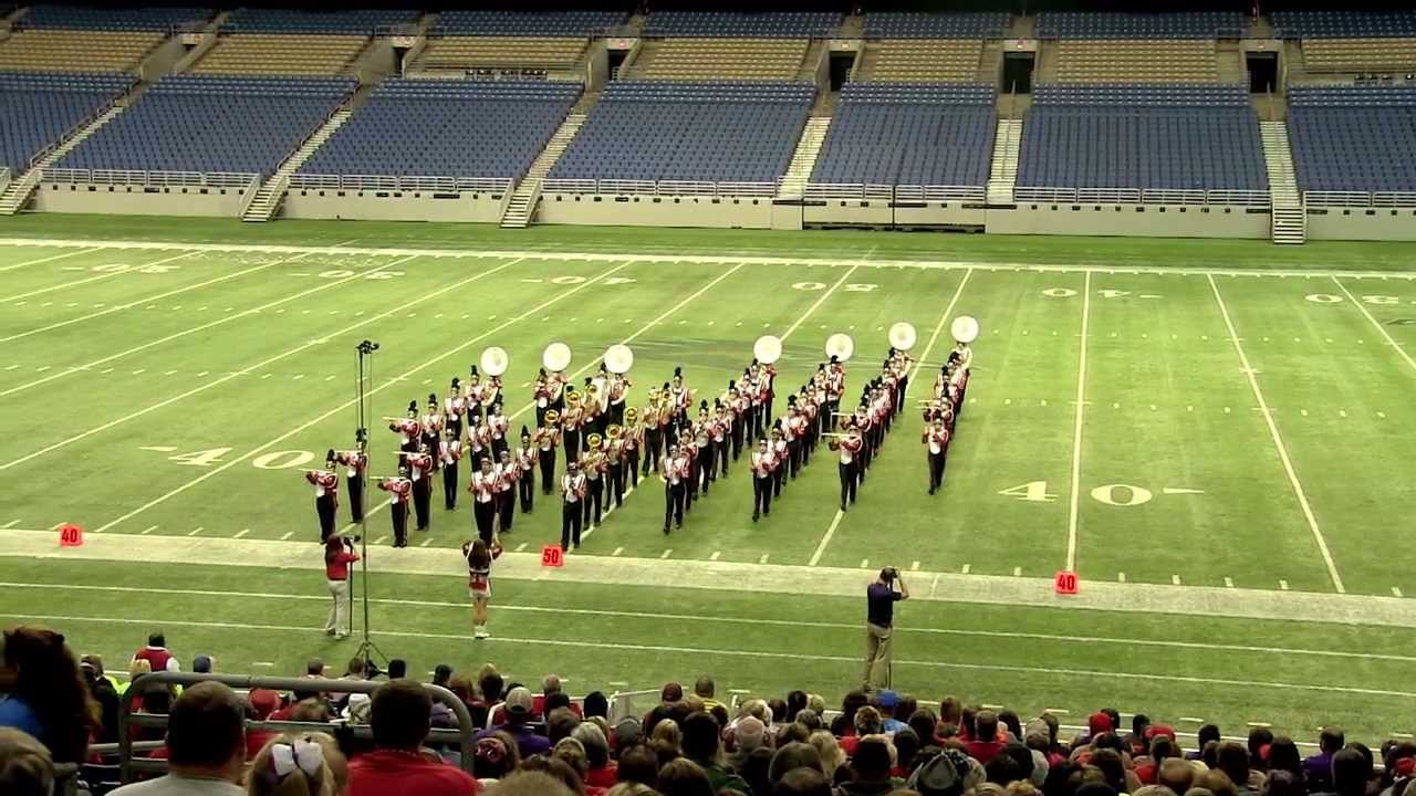 Shelbyville High School Band 2013 Uil 1a State Marching