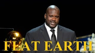 Shaquille O'Neal comes out for Flat Earth - Interviewer stunned - Shaq ✅