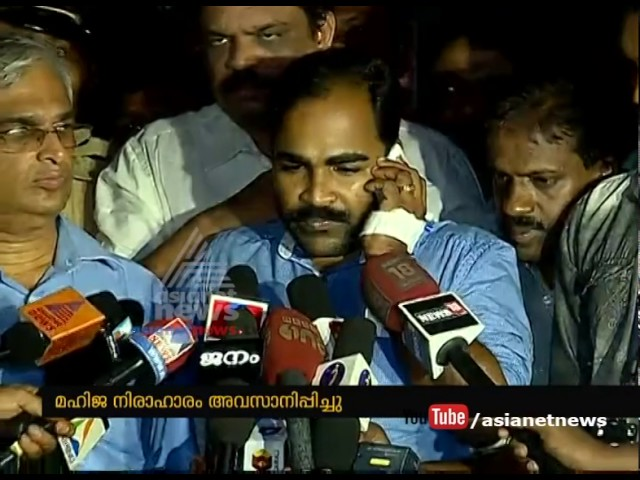 Pinarayi Vijayan calls Jishnu's Mother; Relatives stops hunger strike