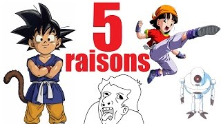 5 raisons qui font de DBGT une catastrophe (SPECIAL Dragon Ball SUPER)