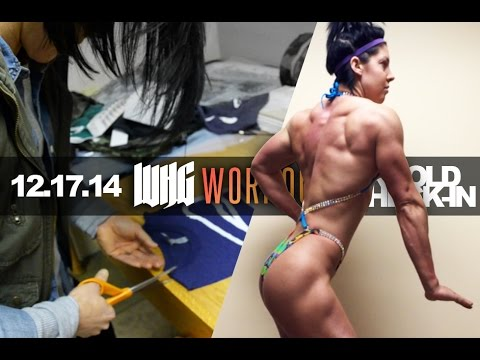 12.17.14 | DLB CHECK-IN, SHIRT CUTTING TUTORIAL, DELTS & DANCING | WHG WORKOUTS