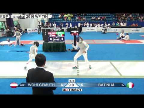 FE W F Individual Shanghai CHN GP 2016 T64 13 green BATINI ITA vs WOHLGEMUTH AUT