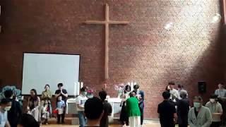프랑크푸르트우리교회 세례자 축복(2020년 5월 31일…