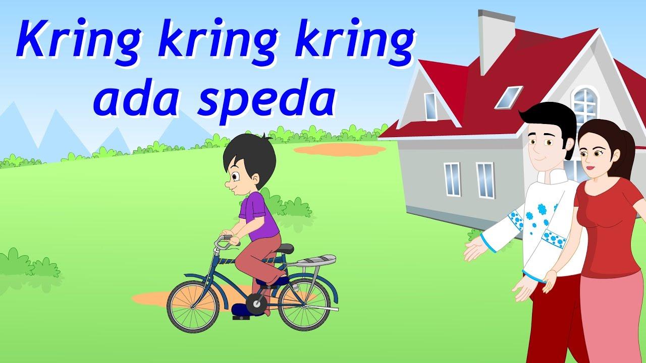 Kring Kring Kring Ada Sepeda | Lagu Anak TV | Bicycle Song