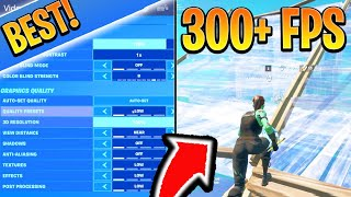 BEST Fortnite SETTINGS To Boost FPS! How To Increase FPS on XBOX/PS4/PC Fortnite (Best FPS Settings)