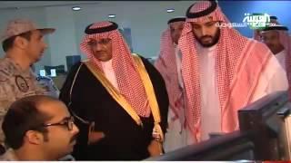محمد بن سلمان أشرف على الضربة الأولى ضد الحوثيين