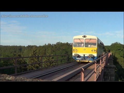 Motorové vozy 810 na trati 176 (Chrást u Plzně - Radnice)