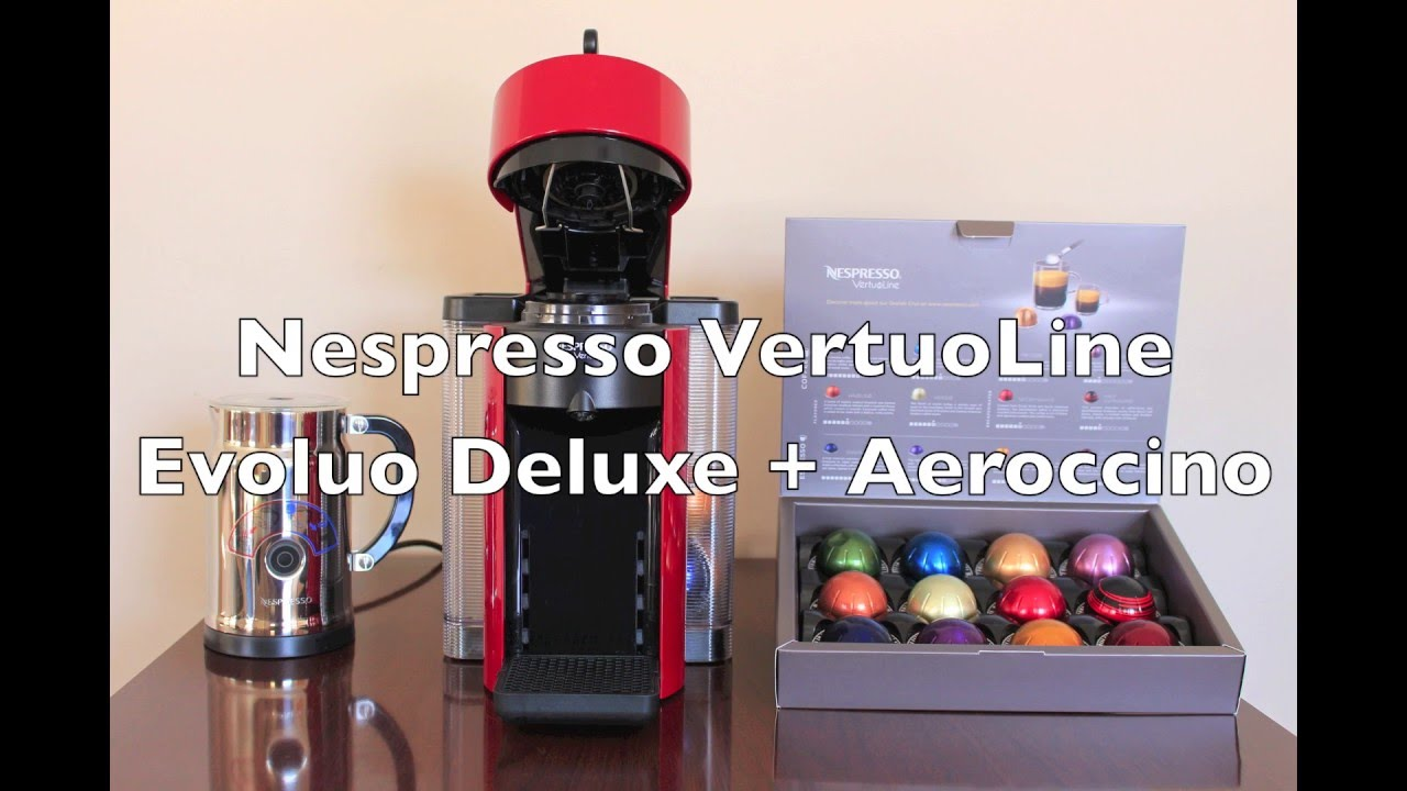 nespresso vertuoline evoluo coffee u0026 espresso maker - Vertuoline