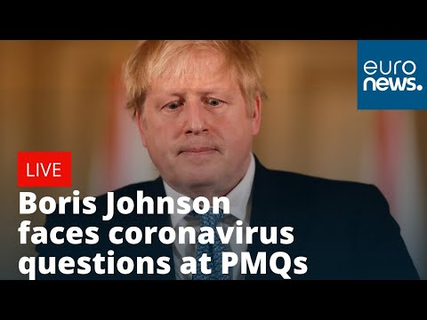 #Coronavirus: Boris Johnson answers questions in the parliament