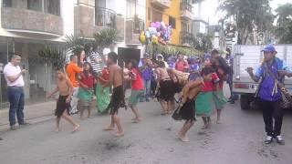 Baile tradicional de los Indígenas de Farallones, Ciudad Bolívar. Antioquia