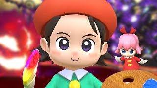Kirby Star Allies True Final Boss Adeleine & Ribbon + Ending & Easter Egg (Alternate Theme / Stage)