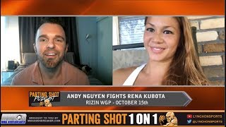 Andy Nguyen talks RIZIN fight Oct. 15, teammate Andrea Lee signing with UFC and Tinder