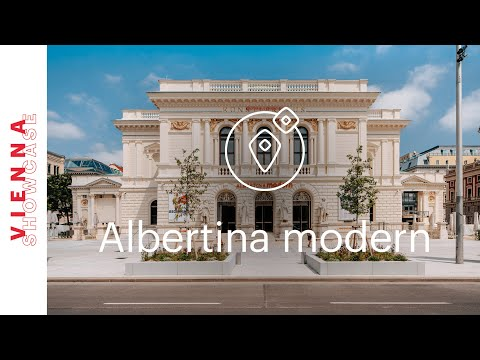 Inside the Albertina modern (Contemporary Art Museum) | VIENNA SHOWCASE