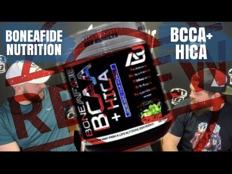 Boneafide BCAA + HICA HONEST REVIEW!   RECOVERY & Hydration!