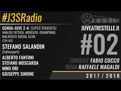 J3SRadio #2 2017/18 | Genoa-Juventus 2-4 (puntata del 28/8/2017)