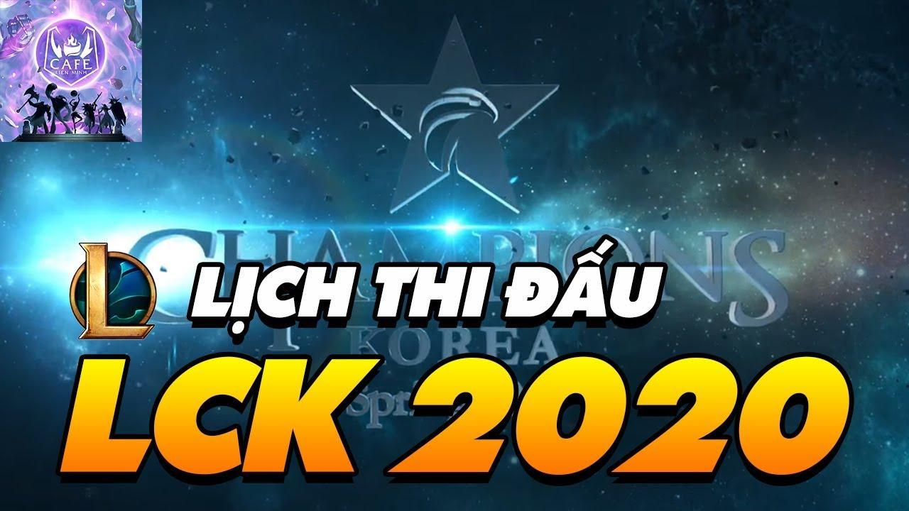 LỊCH THI ĐẤU CHÍNH THỨC LCK MÙA XUÂN 2020: CHỜ ĐỢI BƯỚC CHUYỂN MÌNH CỦA T1!