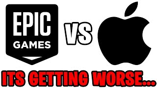 The Fortnite vs Apple Lawsuit Is GETTING WORSE...