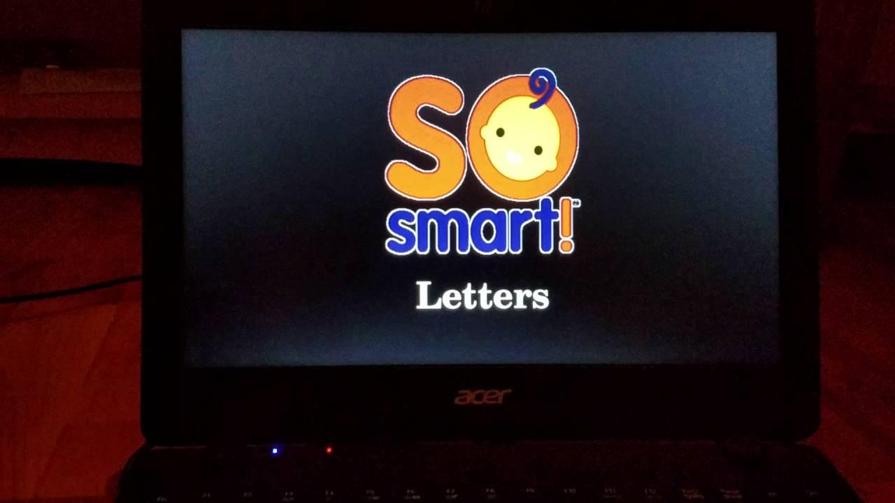 So Smart Letter dvd 6007 - YouTube