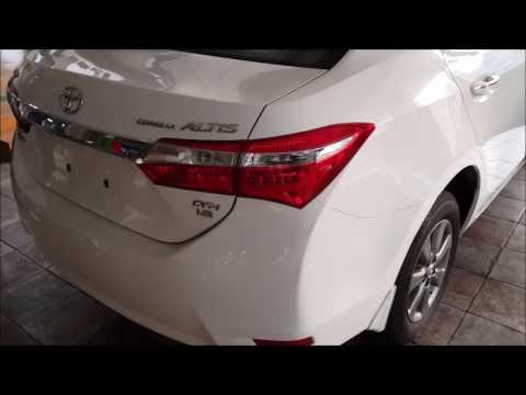 2016 Toyota Corolla Grande: Pakistan Review. Startup/Full Tour
