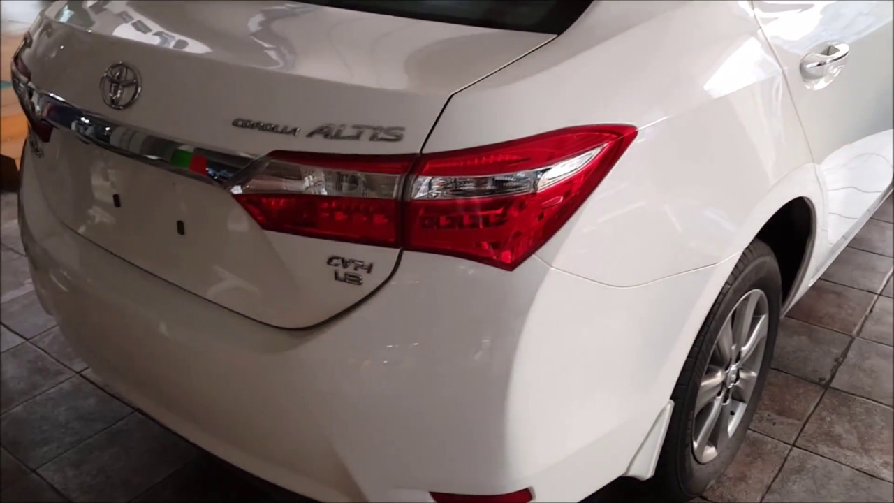 toyota corolla altis 2013 specifications in pakistan