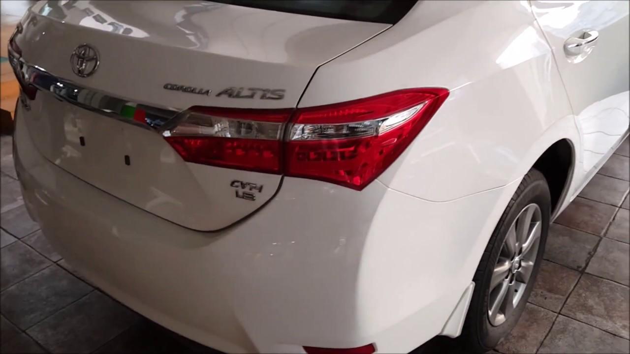 2016 Toyota Corolla Grande Pakistan Review Startup Full Tour Youtube