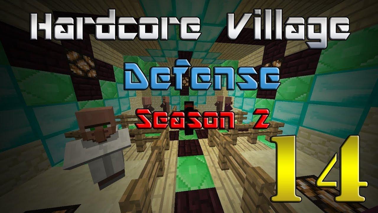 Download Minecraft Hardcore Village Defense S:2 Ep.14 Baby Villagers!