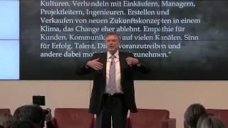 BarCamp Arbeiten 4.0 - Keynote Speech Gunter Dueck