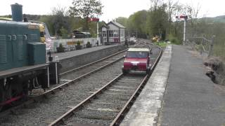 The Smallest Car On Rails! British Rail AI3W At Titley Junction Station 3/5/15
