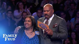 5th Fast Money for the Merriets! | Family Feud