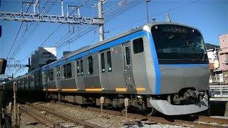 相鉄11000系11002F各停横浜行き 上星川-西谷の踏切通過