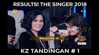 RESULTS: THE SINGER 2018 IN CHINA (KZ TANDINGAN #1, JESSIE J # 2)