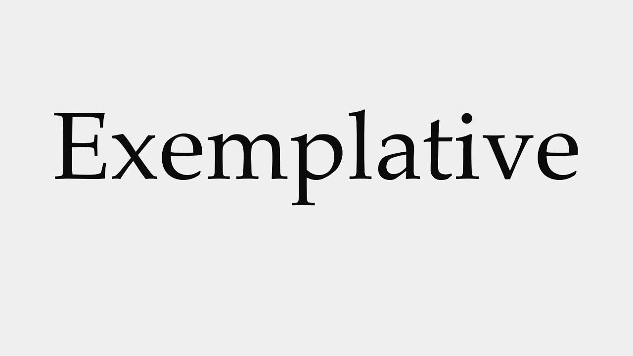 exemplative
