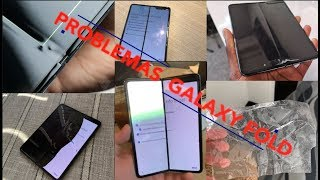 FALLAS en el GALAXY FOLD Samsung en problemas