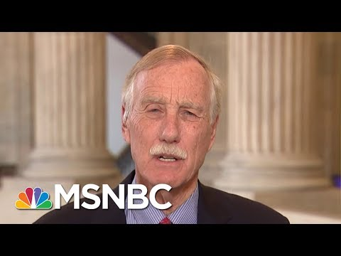Senator Angus King On Tax Reform: Best Case Is For GOP Bill To Blow Up | Morning Joe | MSNBC