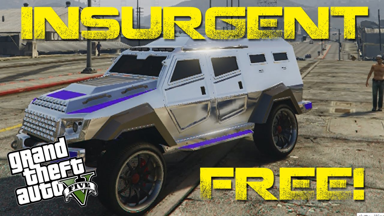 how to get the insurgent free gta5 glitch heist vehicle youtube. Black Bedroom Furniture Sets. Home Design Ideas