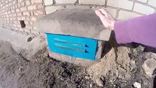 Система приточной вентиляции в подвале