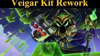Veigar Kit Rework - Skill Shot Double Farm and Stun Nerf!
