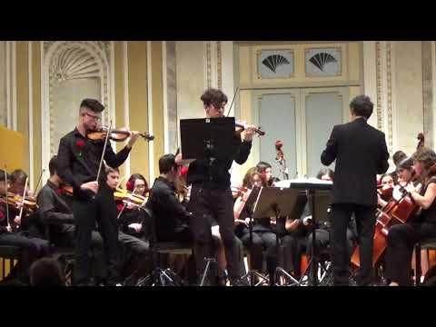 Concierto para dos violines en Re menor (2º mov), J.S. Bach.