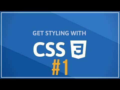 Web Development Tutorial for Beginners (#1) - How to build a CSS Page thumbnail