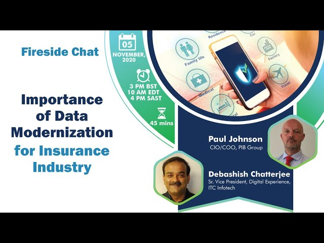 Importance of Data Modernization | Trailer of the Fireside Chat by ITC Infotech