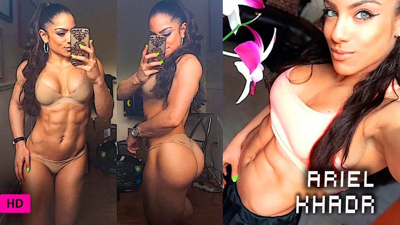 ariel khadr ifbb fitness pro:butt destroyer workout for a bigger